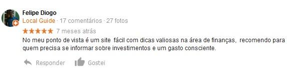 Depoimento Felipe Diogo